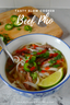 Tasty Crock Pot Beef Pho