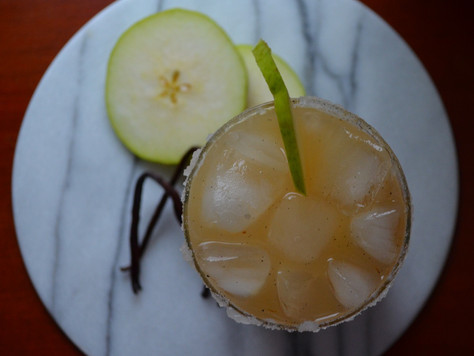 A different drink for fall: Pear & Vanilla Vodka Cocktail