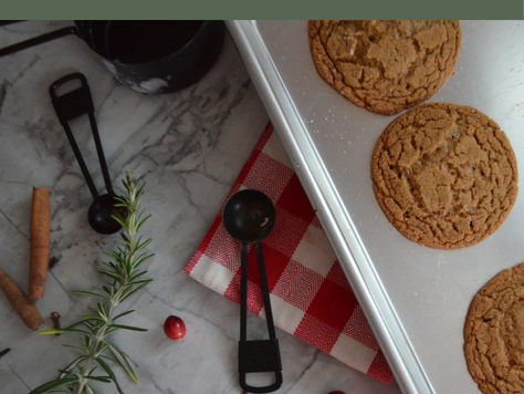 Recipe Review: Chewy Ginger Molasses Cookies