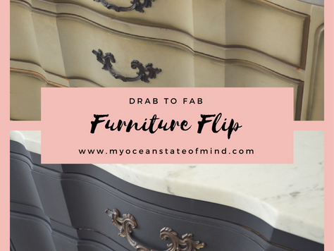 Drab to Fab Bureau Flip with Amy Howard One Step Paint