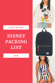 What I Pack for a Disney Trip!