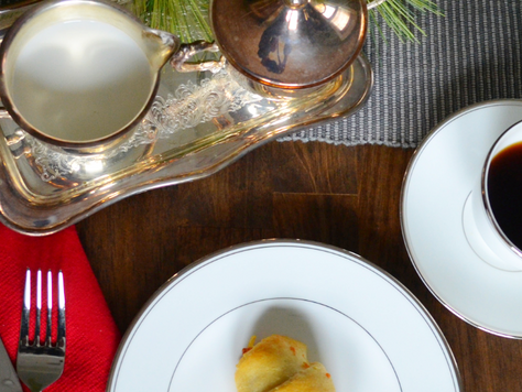 Easy Christmas Breakfast: Sausage Crescents with Hash Browns and Cheese