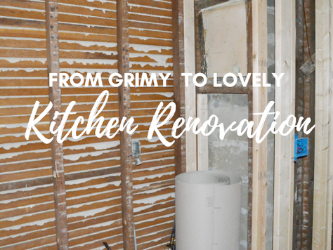 Kitchen Reno Part 1: The Before