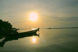 First sunset on Koh Phangan _#Thailand #kohphangan #summer #sunset #beach #sea #tropical #Asia #sout