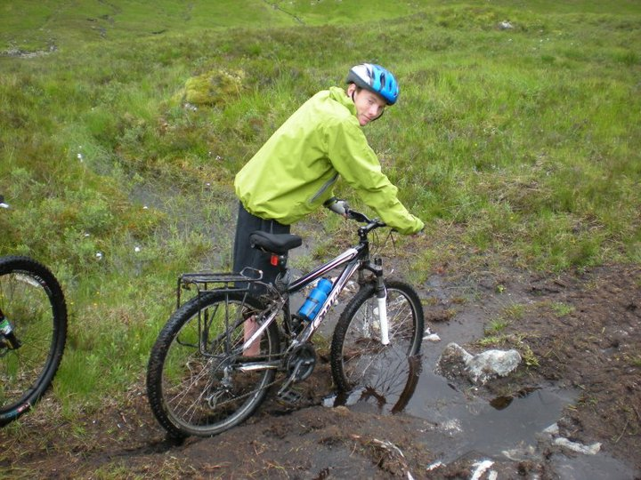 Getting Stuck on the Rannoch Moor