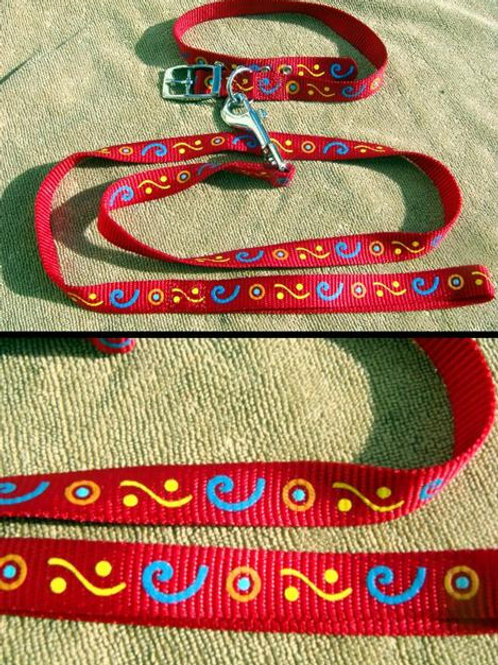'Aztec' Collar and Lead Set (ACLSR)