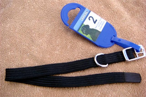'Ancol' Size 2 Black Dog Collar - Puppy/Toy (A2BDCT)