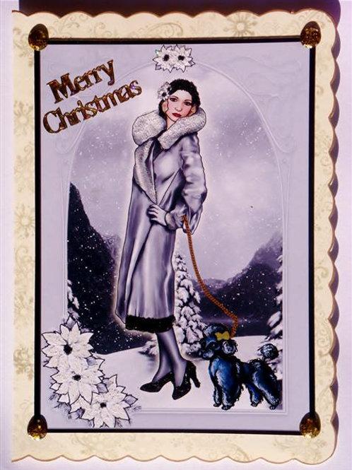 Merry Christmas Snow Scene (MCSSCC)