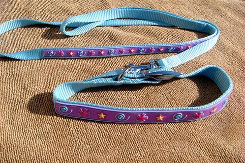 Blue 'Sweetheart' Collar and Lead Set (BSCLS)