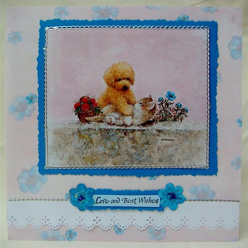 Poodle 'Love & Best Wishes' (PLBWGC)
