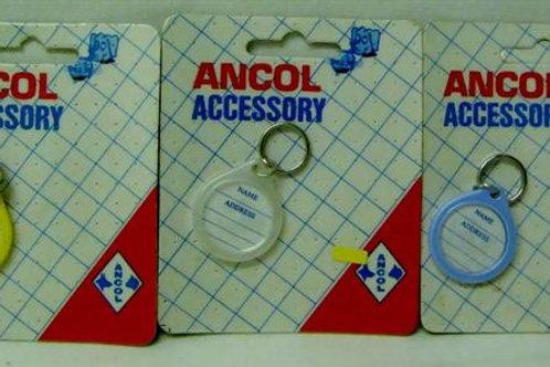 Ancol Plastic ID Discs (APID)