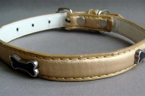 Gold Bone Collar - Medium (GBMCOL)