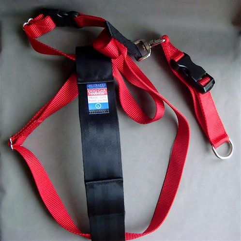 Red Hi-Craft Large Dog Car Harness