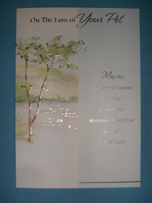Choice of Sympathy Card (COSC)