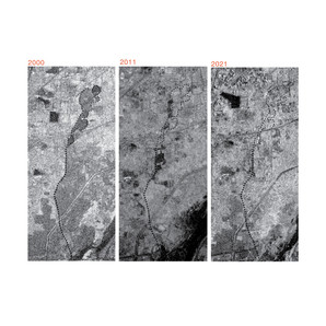 While looking at the ward's natural resources of water, sarkhej's topographical and hydrological landscape reflects a natural drain. This inland distributary in its landscape was neglectingly built over the years.