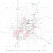 Water Supply Grid Map of Ahmedabad City