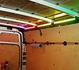 LED Laderaumbelechtung Transporter Beleuchtung RGB