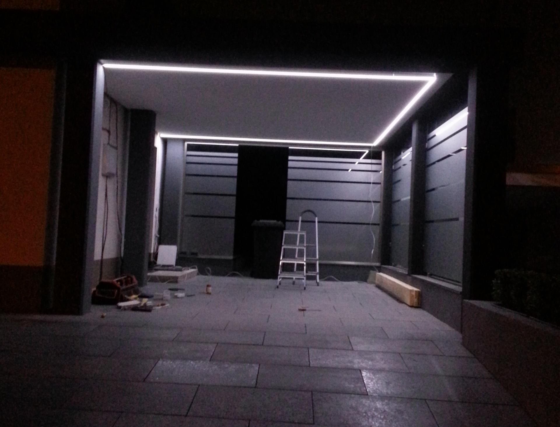 LED Garagenbeleuchtung
