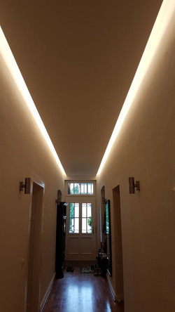 indirekte LED Deckenbeleuchtung