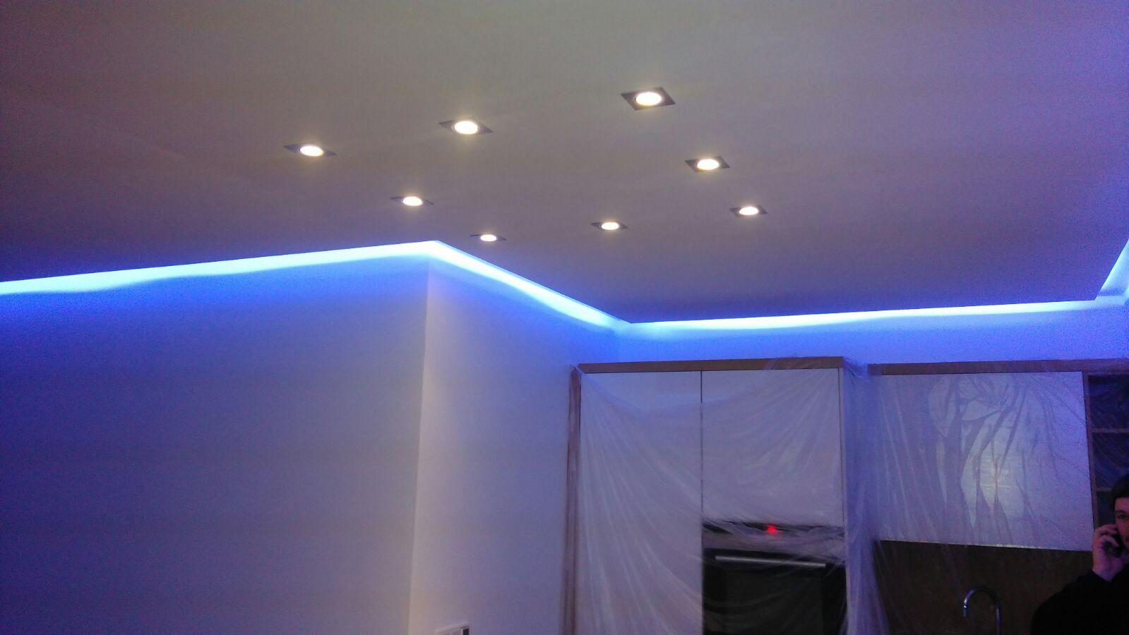 LED Strahler indirekte Beleuchtung