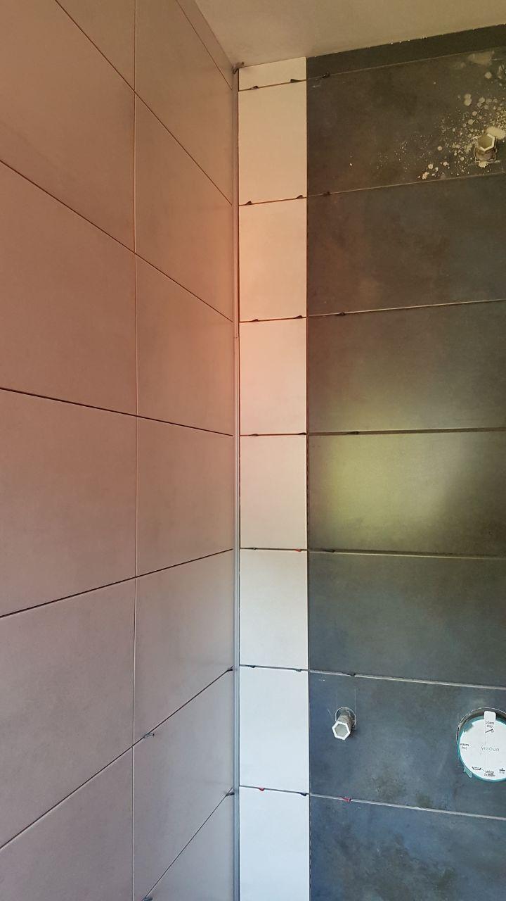 LED Schiene Dusche