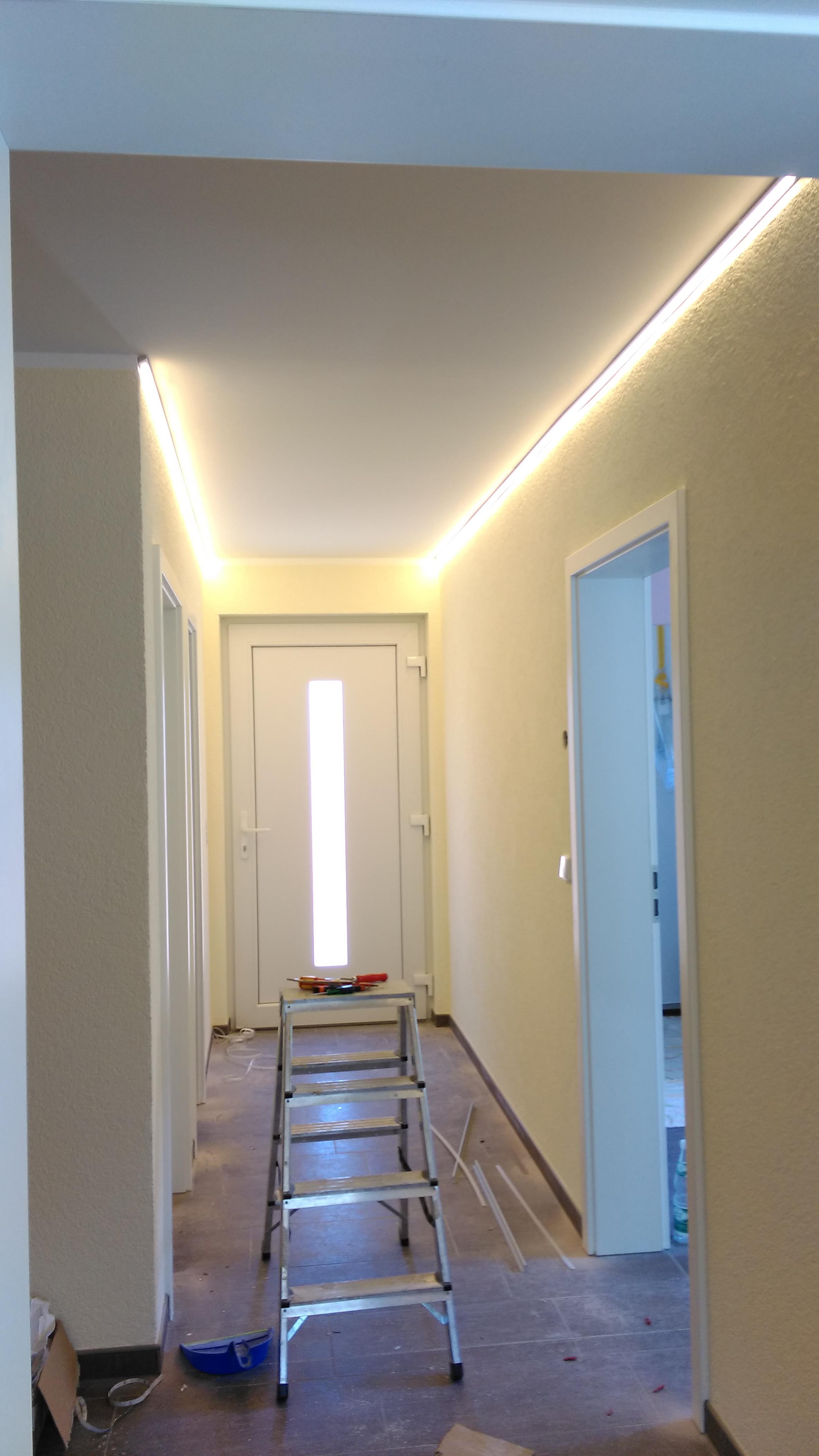 LED Flurbeleuchtung