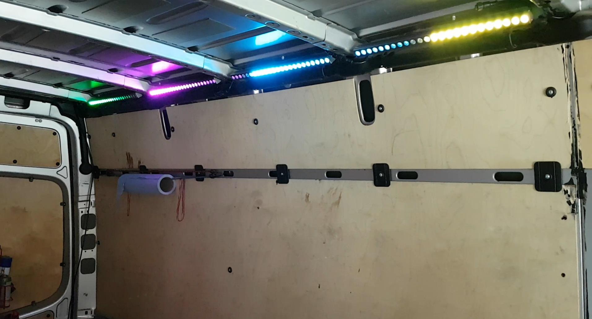 RGB LED Sprinter Beleuchtung