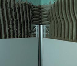 Installation LED Fließenschiene