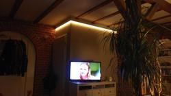 indirekte LED Wohnzimmerbeleuchtung