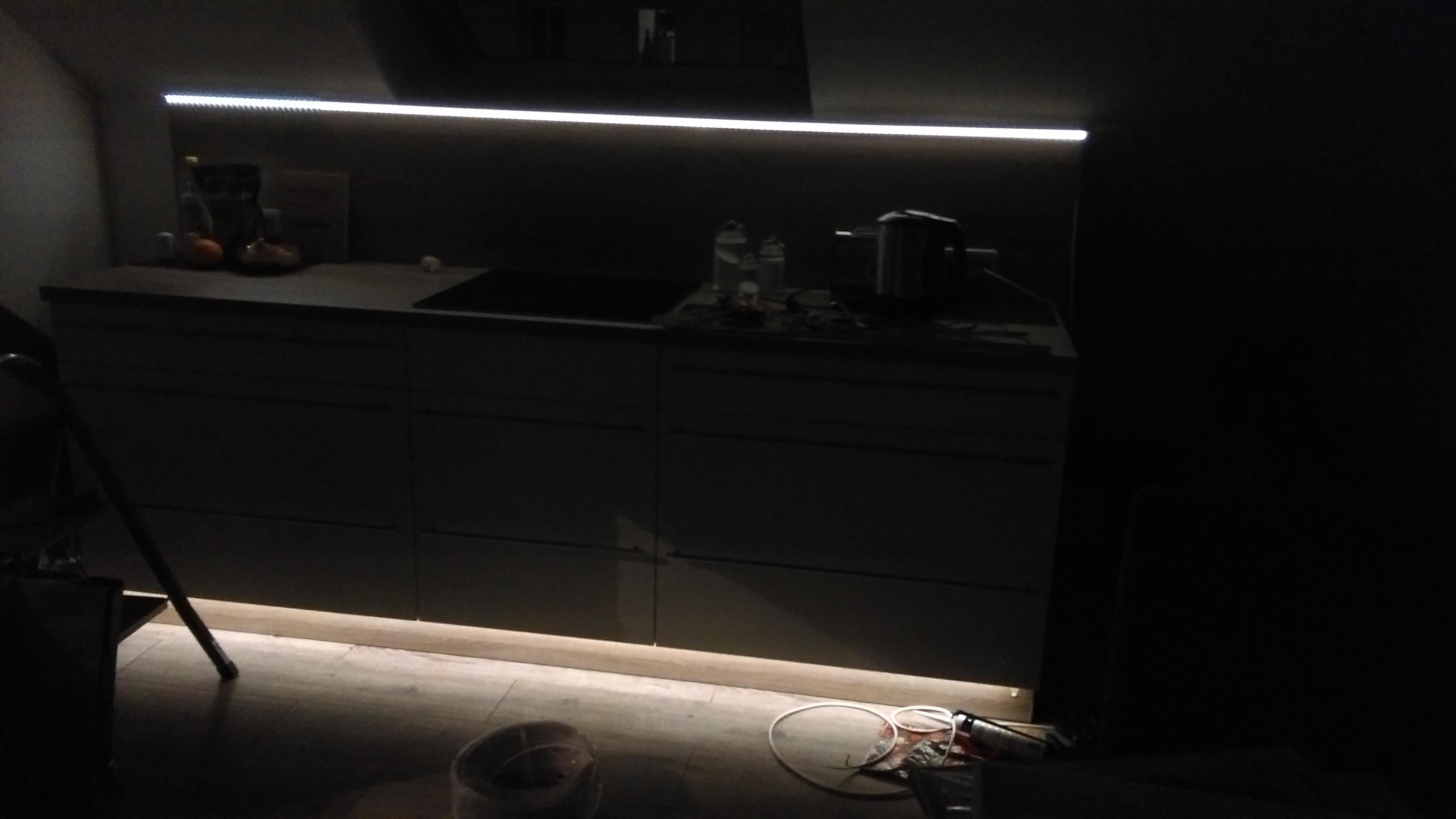 indirekte LED Küchenbeleuchtung
