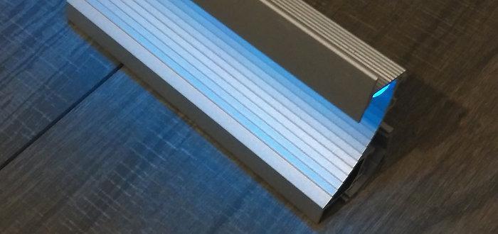 Wand - Profil für LED Streifen