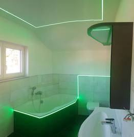 LED Fliesenschienen Bad