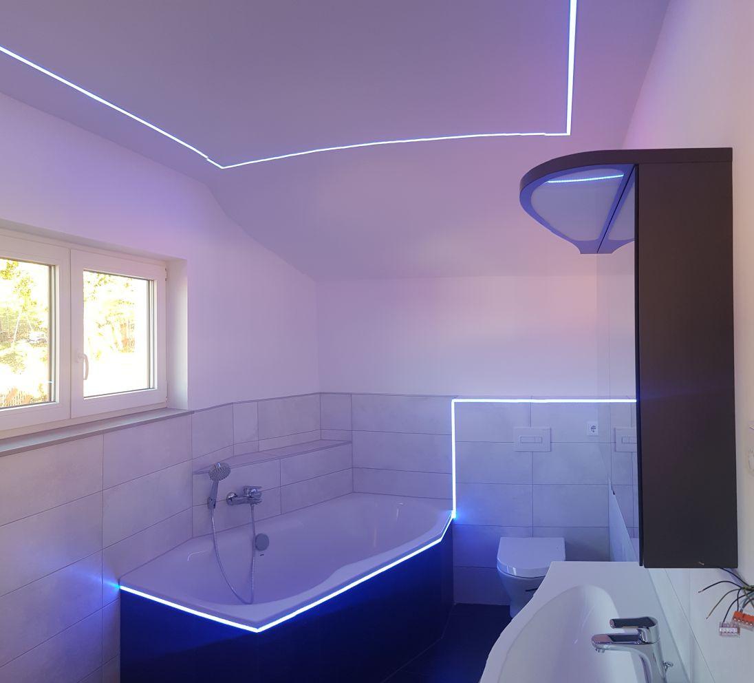 Led Fliesenprofile Bad Dusche Badewanne