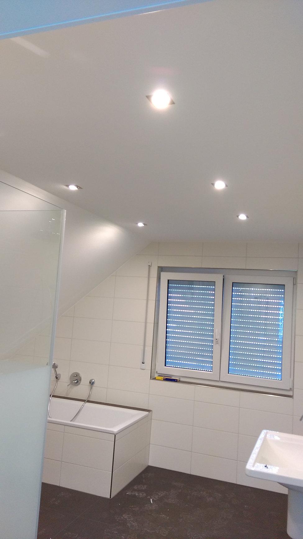 Badbeleuchtung ideen - Einzimmerappartement einrichten ...
