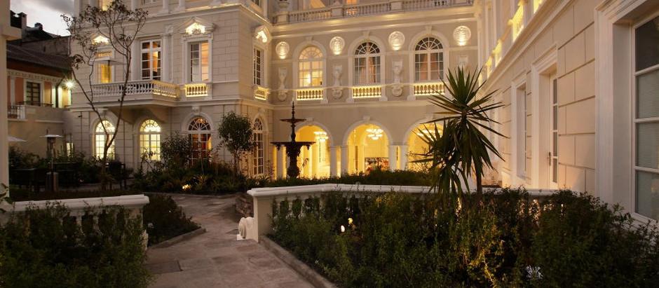 """Casa Gangotena: """"Un hotel de lujo con más de 400 años de historia"""""""