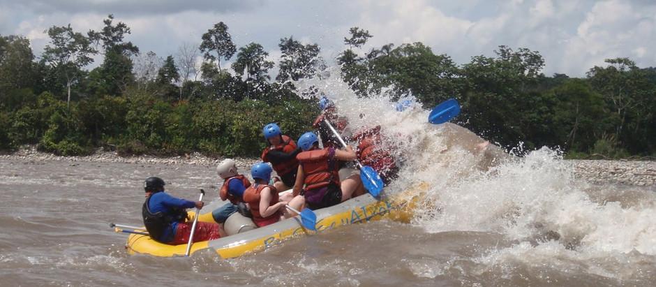 Vence tus miedos y recorre los rápidos del Ecuador