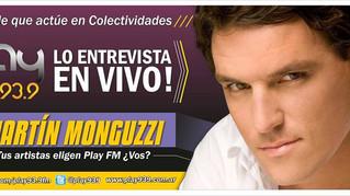 """MARTÍN EN """"PLAY FM"""""""