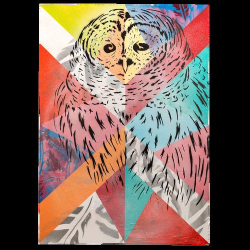 Owl: Barn Quilt