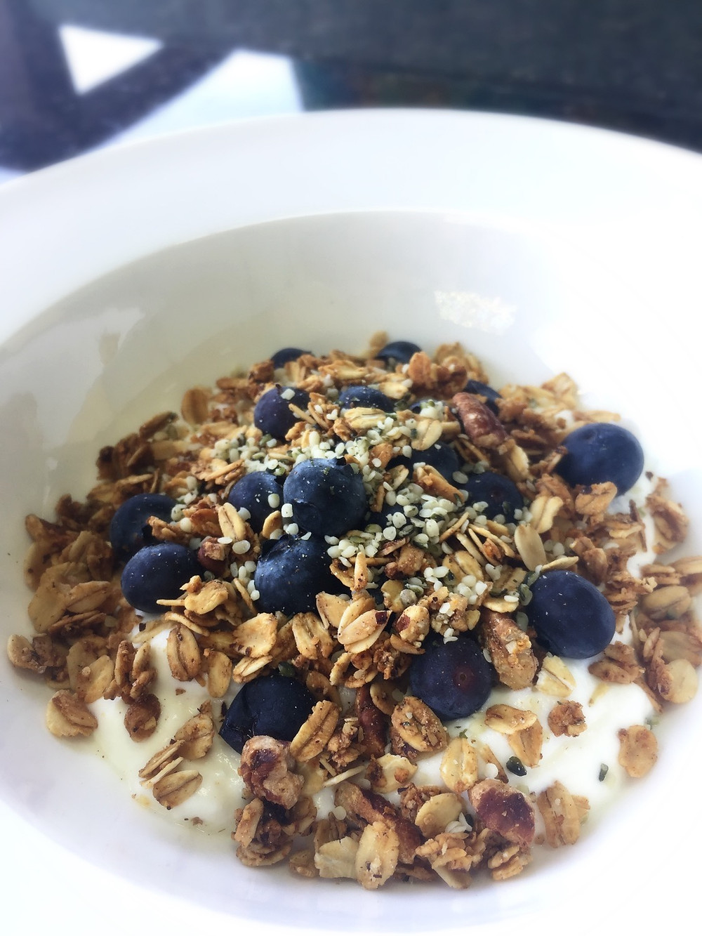 Gluten-Free Granola Bowl