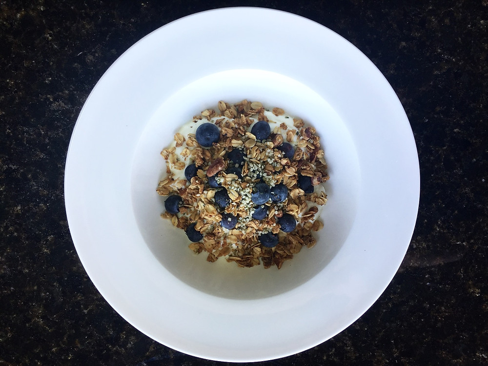 Gluten-Free Granola and Greek Yogurt