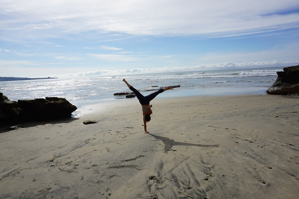 Beach Cartwheels