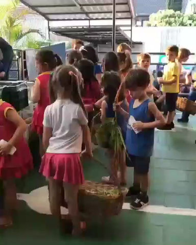 Feira Orgânica na escola