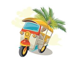 tuktuk vietnam