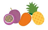 Jus passion ananas mangue