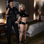 """""""'Amber, Cuffed, Gagged, and Hobbled"""""""