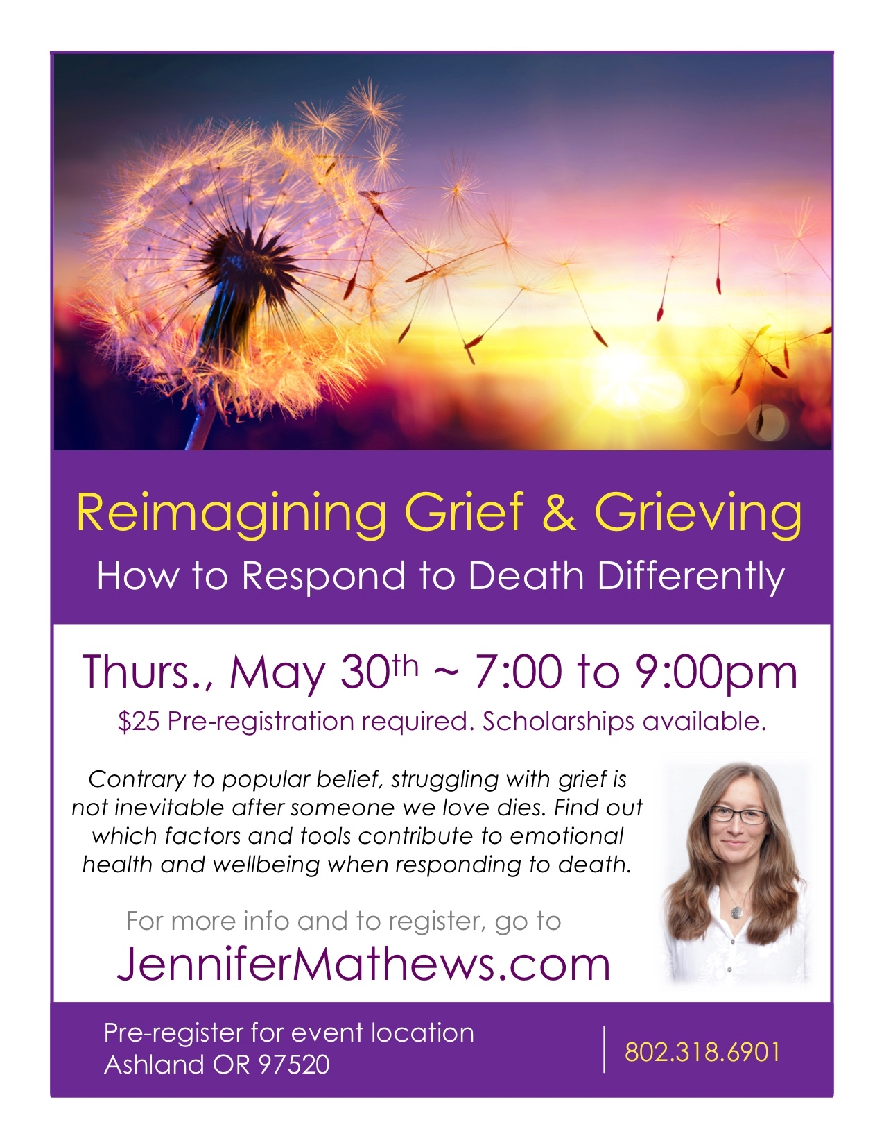 Reimagining Grief May 2019