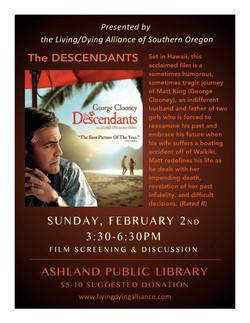 LDA Feb 2020 The Descendants FLYER