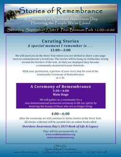 Stories & Ceremony of Remembrance