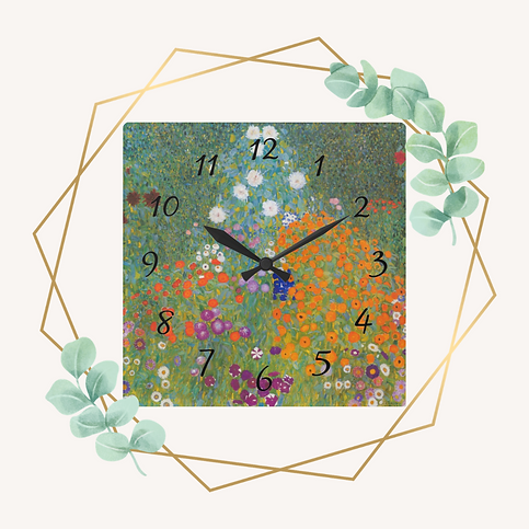 Gustav Klimt Home Decor Accent Gift Wall Clock icon.png