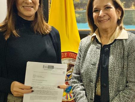 Por solicitud de la Senadora Maritza Martínez, la Ministra de Justicia visitará Villavicencio la pró